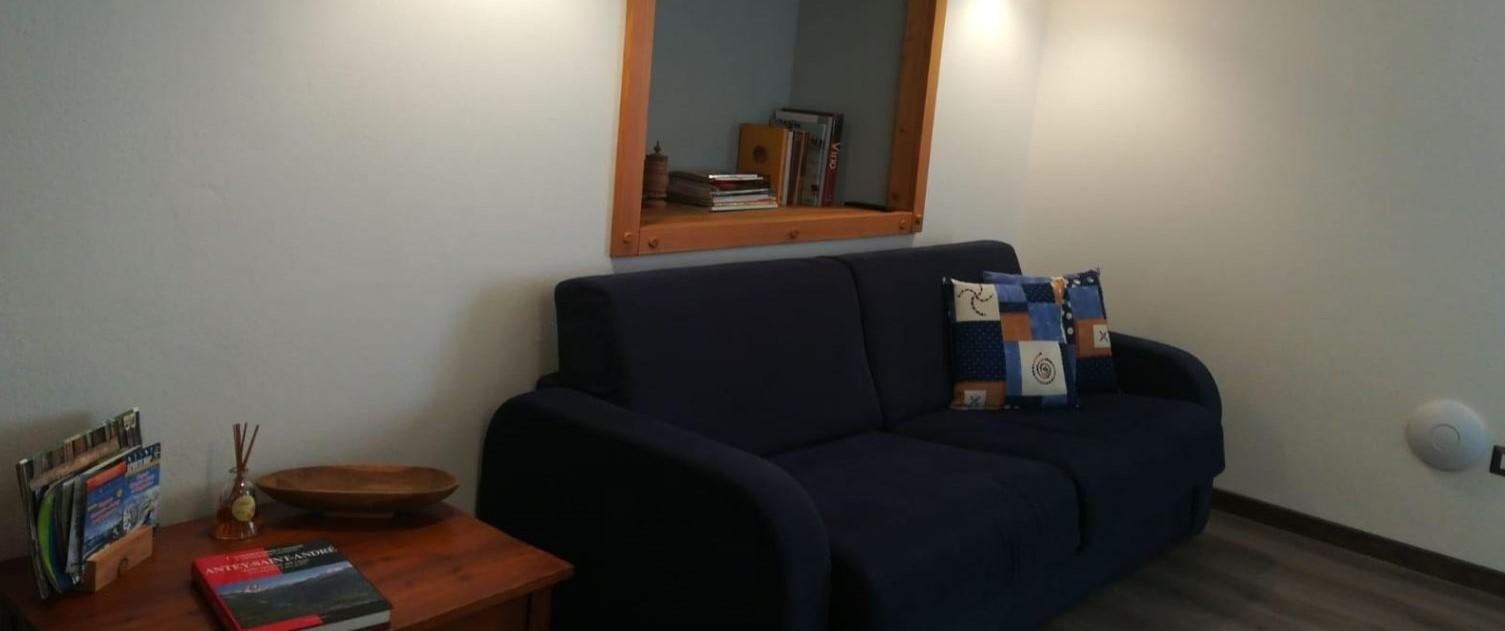 divano comfort stile genzianella taglio