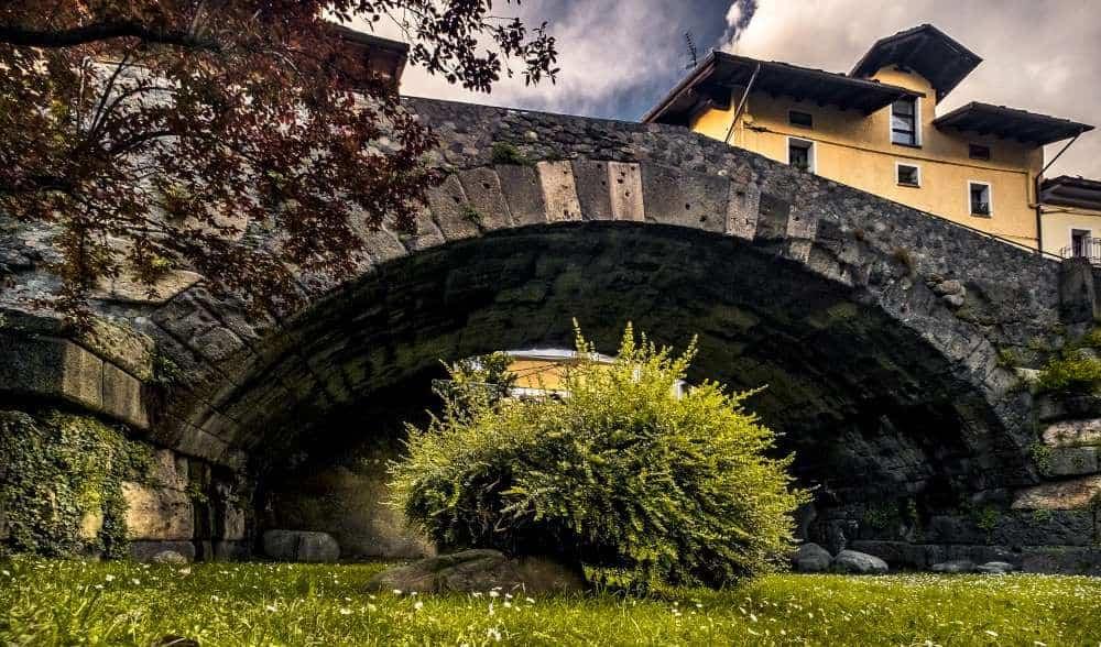 Ponte romano sul Buthier Aosta