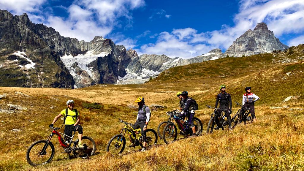 monte cervino sport e-bike estate